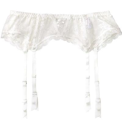aimerfeel 吊襪束腰帶-白色