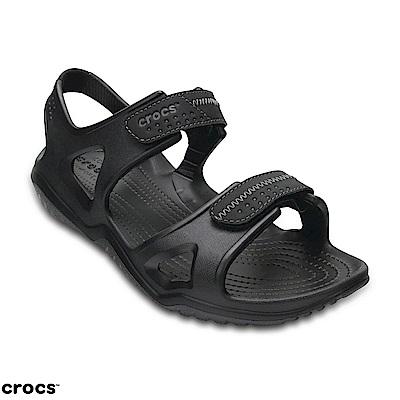 Crocs 卡駱馳 (男鞋) 男士激浪涉水涼鞋 203965-060