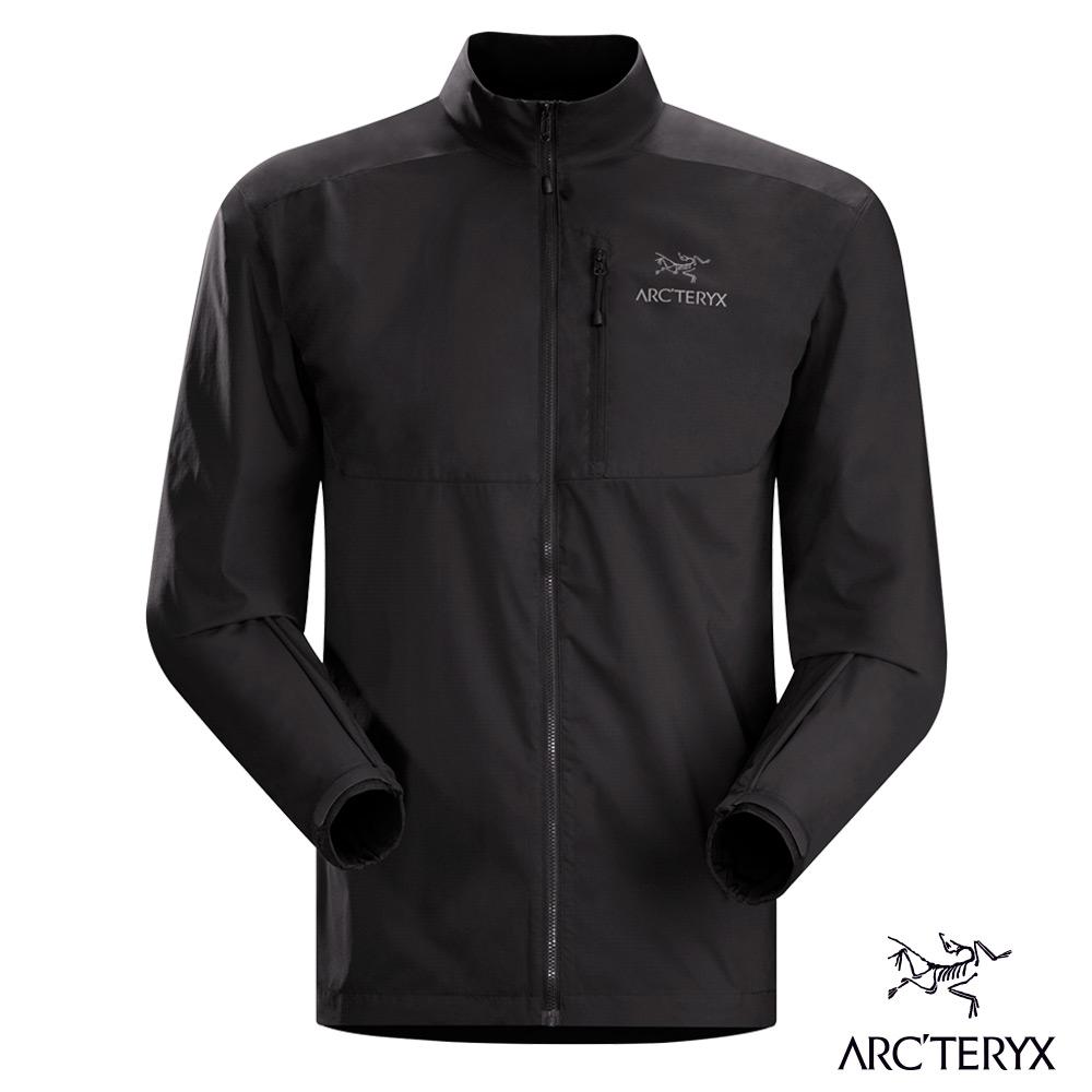 Arcteryx 始祖鳥 男 風衣外套 防潑水 Squamish 黑