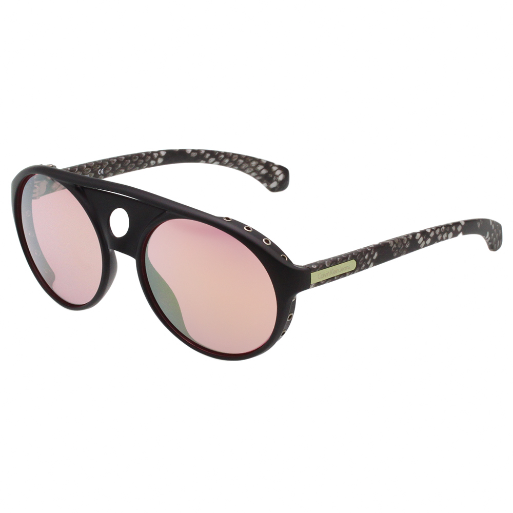 Calvin Klein- 中性款造型 太陽眼鏡(黑色)CKJ790S