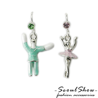 【Seoul Show】天鵝湖 奧地利水晶耳環