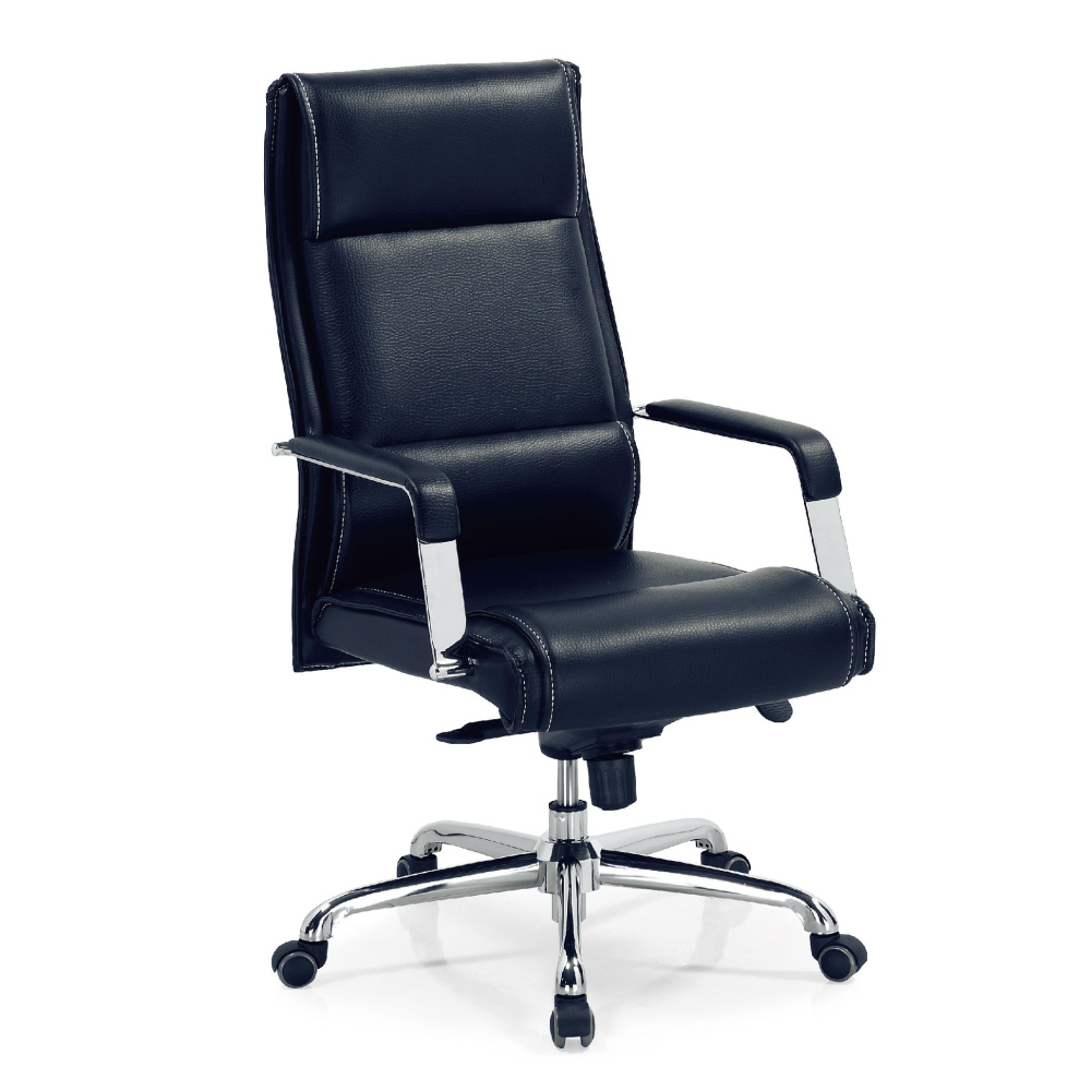 GD綠設家 易可皮革多功能主管椅/辦公椅-61x53.5x115cm免組
