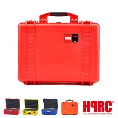 義大利 HPRC 2500C 頂級防撞硬殼箱-內泡棉式(公司貨)-紅色