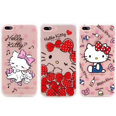 GARMMA Hello Kitty iPhone 7/8 軟式霧面保護殼