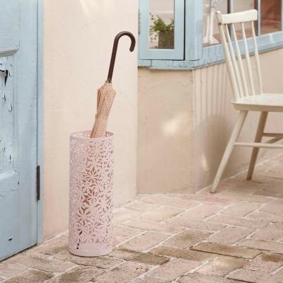 【YAMAZAKI】雕花鏤空雨傘筒-粉★雨傘筒/雨傘桶