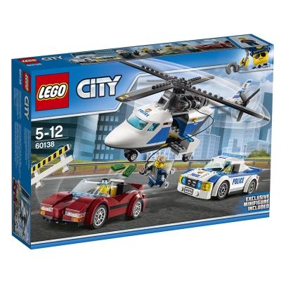 LEGO樂高 城市系列 60138 高速追捕 (5Y+)