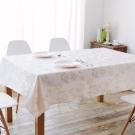 伊美居 - 花漾防潑水桌巾 120cmX120cm 1件