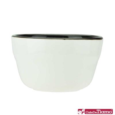 Tiamo U型雙色杯測杯 200ml*6入-咖啡色 (HG0788BR)