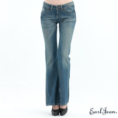 Earl Jean 213Slim Bell Battoms低腰合身喇叭褲-淺藍