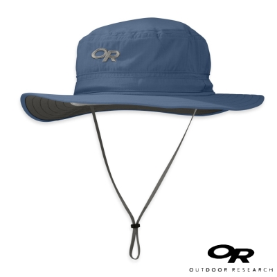 【美國 Outdoor Research】HELIOS 抗UV透氣中盤帽_墨藍
