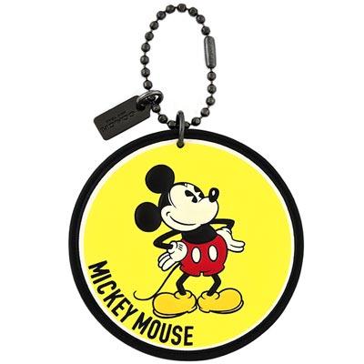 COACH Disney初版MICKEY造型吊飾
