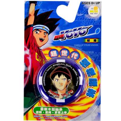 《超速YOYO系列》木製軸承溜溜球2入組(ST安全玩具)