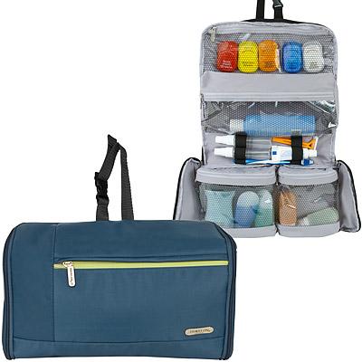 TRAVELON 軟式盥洗化妝包(藍)