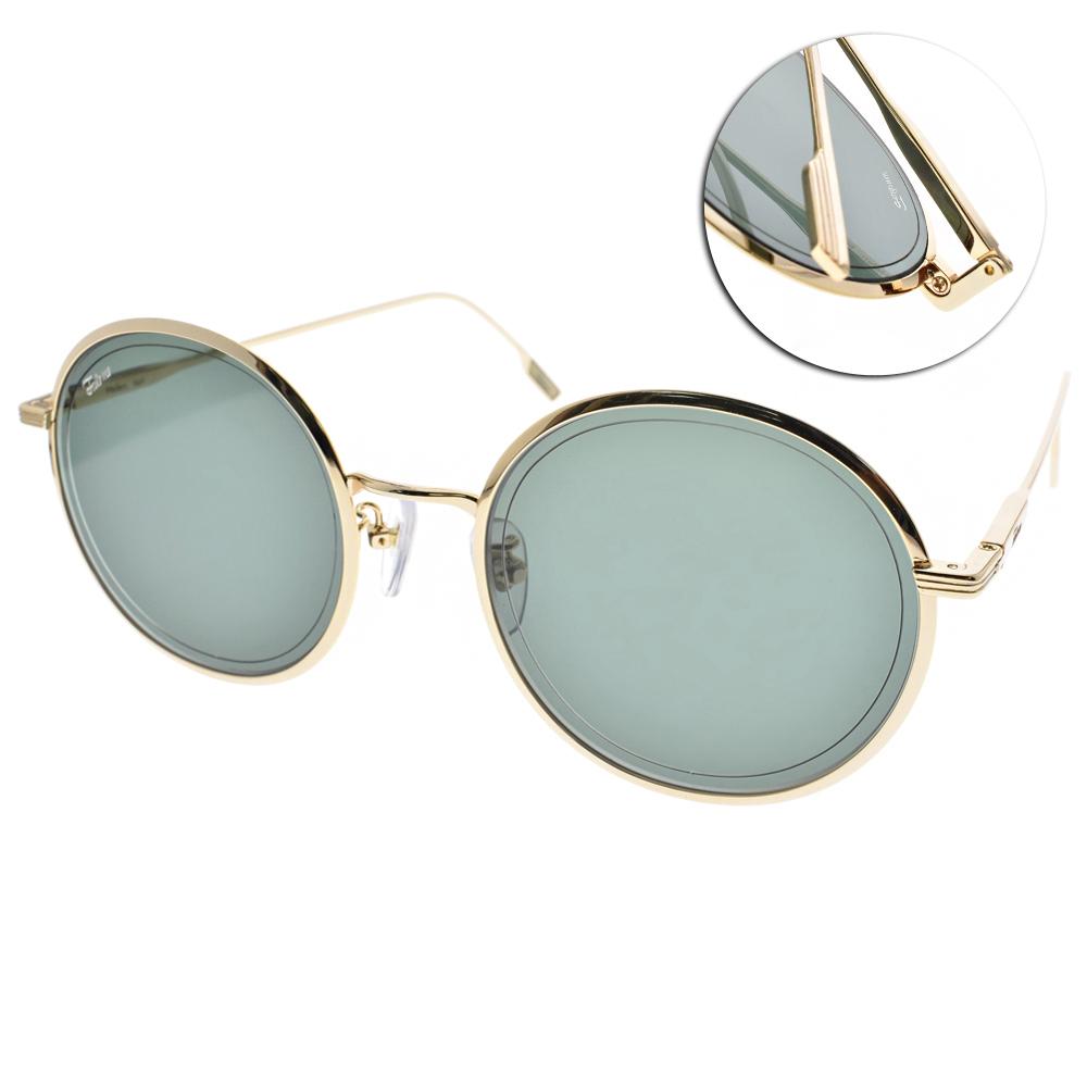 FAKE ME太陽眼鏡 韓系圓框/金-綠鏡片#HELEN. BGD