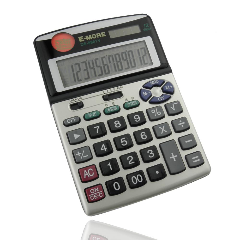 E-MORE[財神到]招財進寶稅務計算機(DS-988TV)
