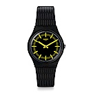 Swatch The Swatch Vibe GAILLONERO 黑黃迷夢手錶
