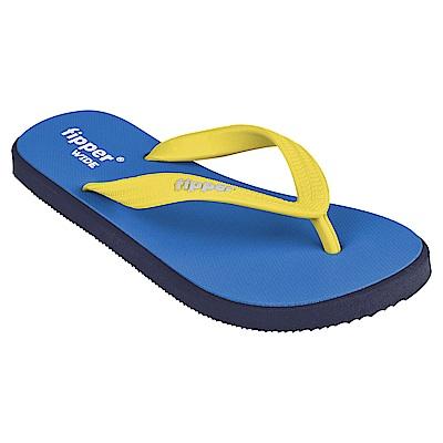 Fipper WIDE 天然橡膠拖鞋 BLUE-YELLOW @ Y!購物