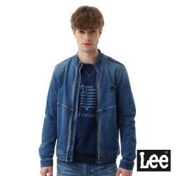 Lee 內刷毛牛仔外套-男款-藍