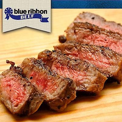 豪鮮牛肉  藍絲帶黑安格斯精品級無骨牛小排4片(200G+-10%/片)