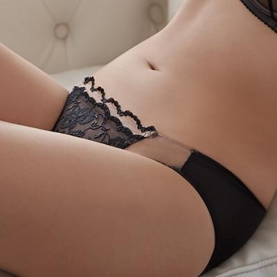 蕾黛絲-雙鋼圈靠過來-低腰內褲 M-EL(神秘黑)