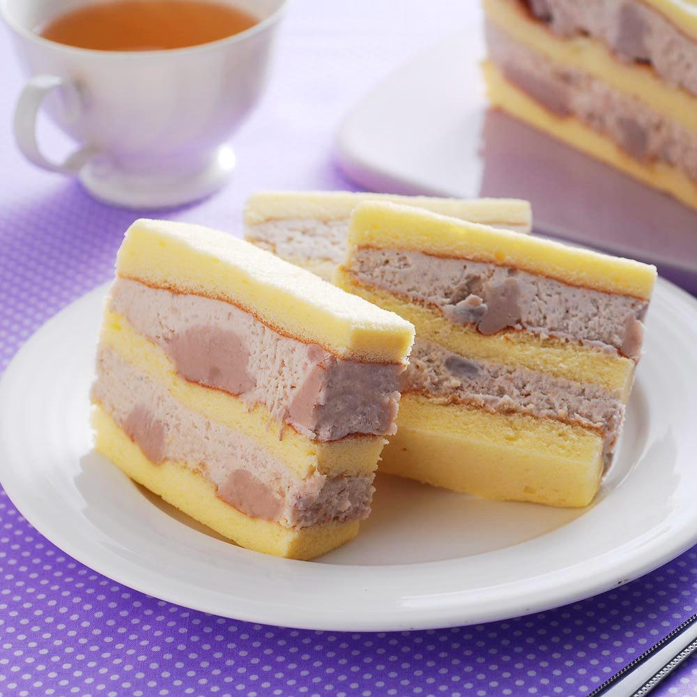 不二家真芋頭蛋糕2盒(600g/盒)
