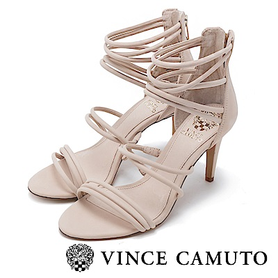 Vince Camuto 美型繞踝百搭細跟涼鞋-粉色