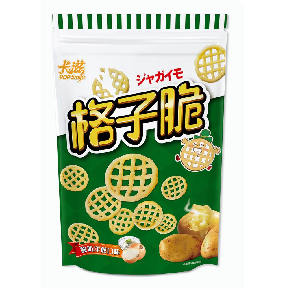 卡滋格子脆-酸奶洋蔥口味(360g)
