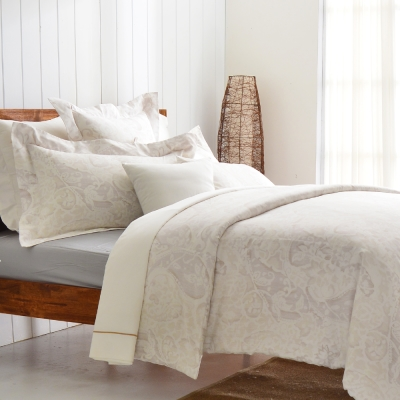 Cozy inn 民謠-300織精梳棉四件式被套床包組(加大)