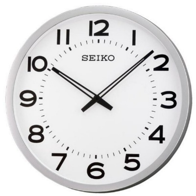 SEIKO 日本精工 大型辦公室掛鐘(QXA563S)-白/51cm