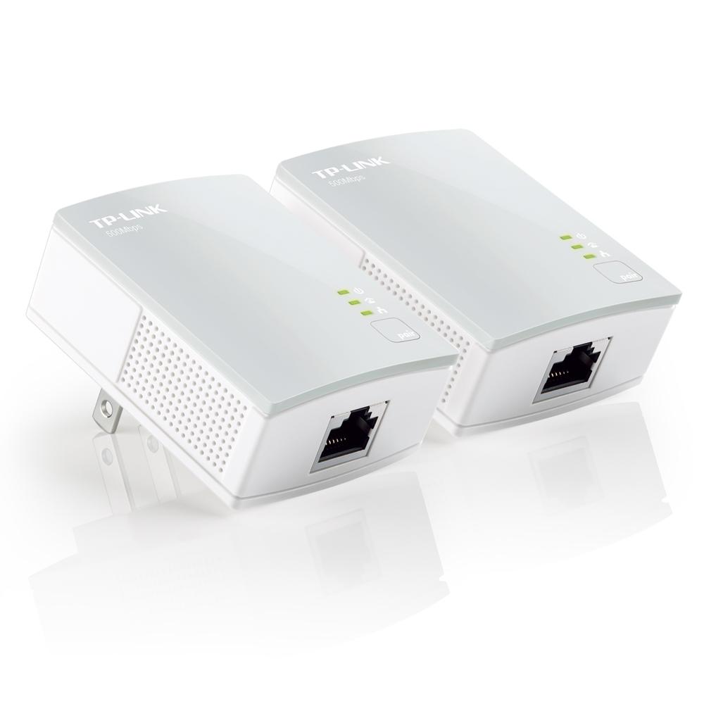 TP-Link TL-PA4010KITV2  AV600微型電力線網路橋接器雙包組