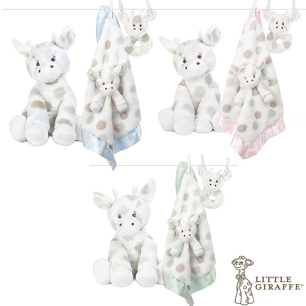 Little Giraffe Little G 長頸鹿嬰兒安撫娃娃玩偶套組
