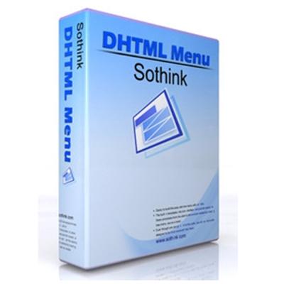 Sothink DHTML Menu (動態網頁選單製作) 單機授權
