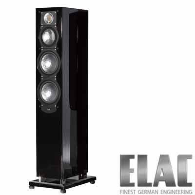 ELAC德國精品落地式喇叭FS 249 (SW黑色)-對