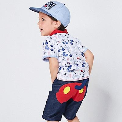 Disney 米奇系列剪影仿牛仔五分褲 (2色可選)