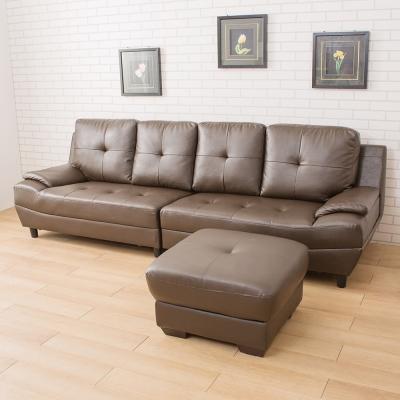 典雅大師 Roberta羅伯塔皇家高背四人位沙發-含腳椅