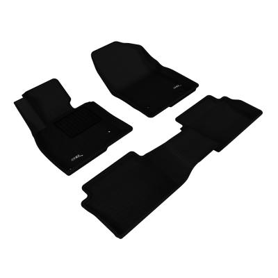 3D 神爪卡固立體踏墊 Mazda 3 2015~2016+ 後座有安全帶護蓋