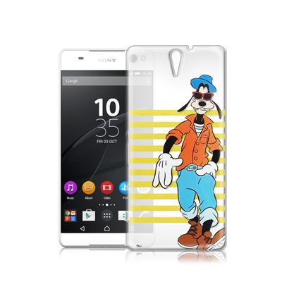 迪士尼Sony Xperia C5 Ultra E5553 街頭透明軟式手機殼(...