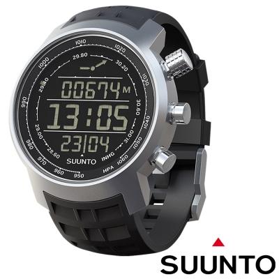 Suunto Elementum TERRA登山釣魚計時錶攀山系列黑色橡膠錶帶