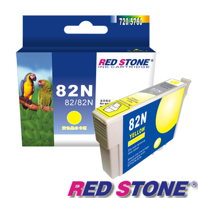RED STONE for EPSON 82N/T112450墨水匣(黃)【舊墨水匣型號T0824】