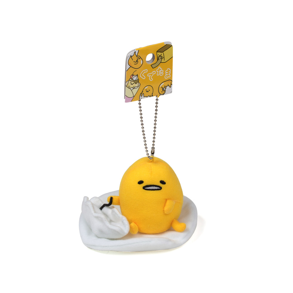 Sanrio 蛋黃哥造型玩偶吊鍊(指揮家)