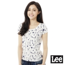 Lee 101+印花短袖T恤-女-灰