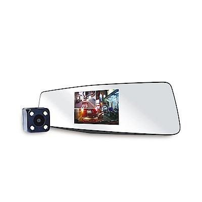 MANHATTAN RS3D 1080P 雙鏡頭 後視鏡 行車紀錄器