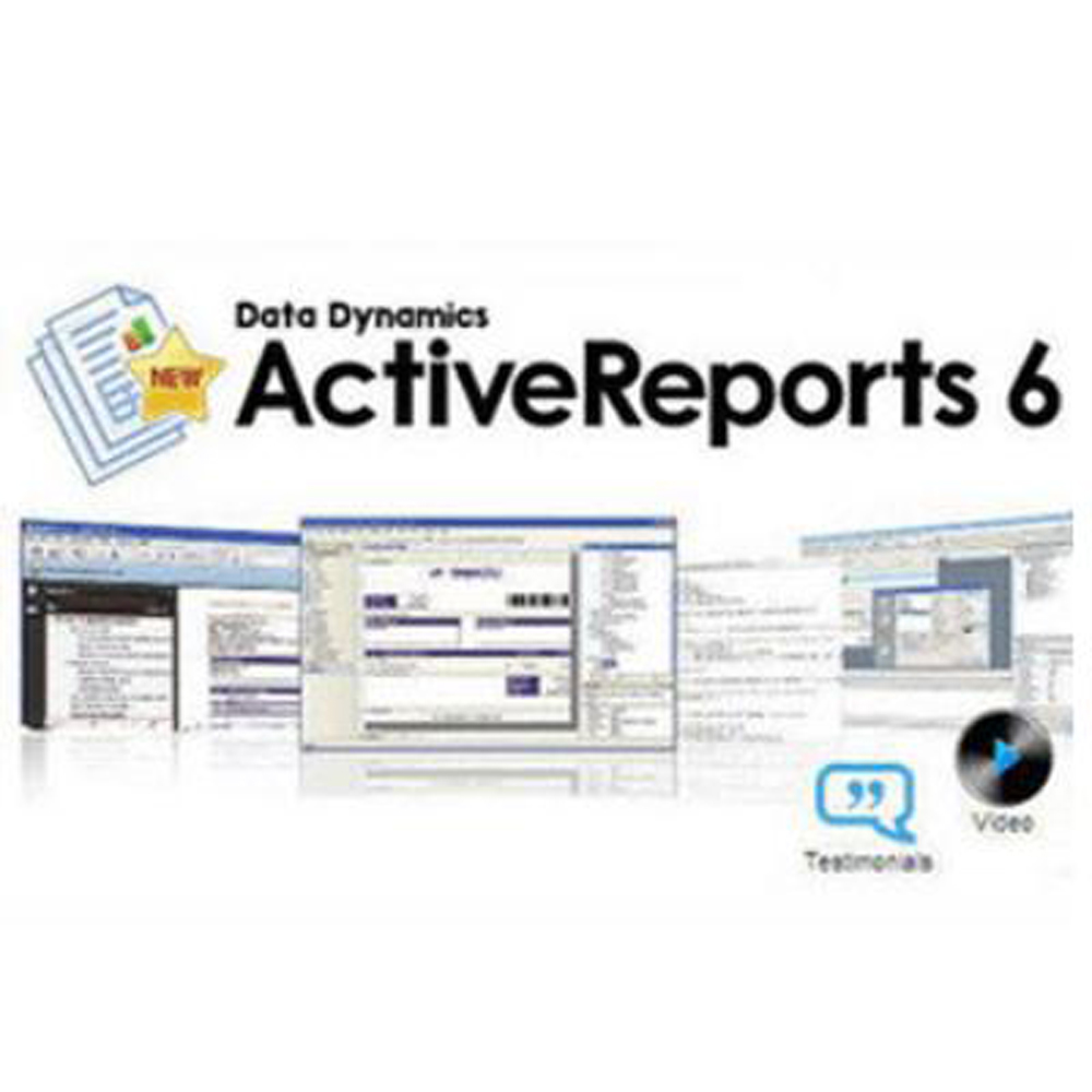 ActiveReports 6 標準(下載版)