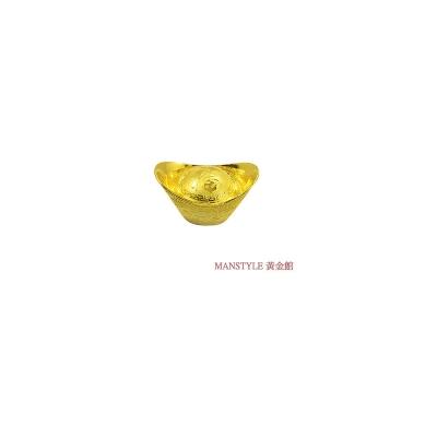 MANSTYLE 福字黃金元寶 (3錢)