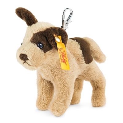 STEIFF德國金耳釦泰迪熊 - Strolch Dog Keyring 狗狗(經典吊飾)