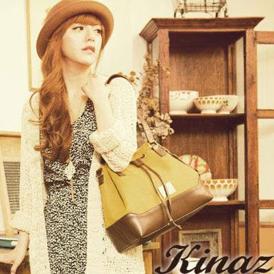 KINAZ -  Have fun趣味拼圖系列~獨創記憶多way包-溫暖黃