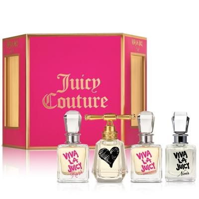 Juicy Couture小香禮盒4入組-送紙袋+針管隨機款