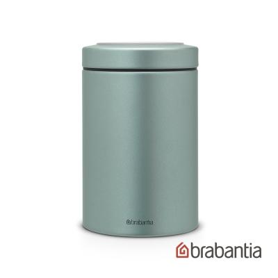 Brabantia 金屬藍食物儲物罐1.4L