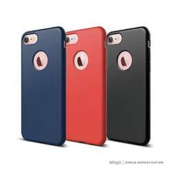 elago iPhone 8 全球獨家 極簡手機保護軟殼