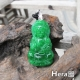 Hera 靜縊翠綠鐵龍生平安觀音項鍊 product thumbnail 1